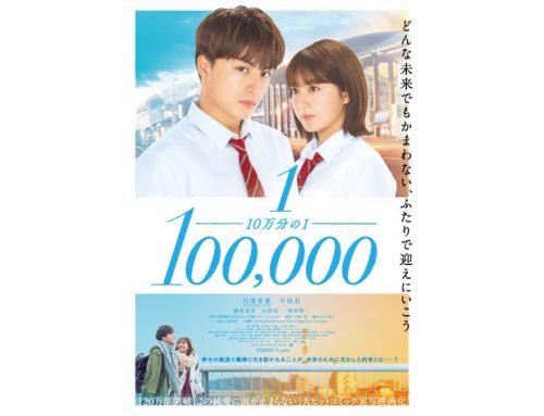 三木康一郎監督 映画「10万分の1」 クラスメイト役等で出演!